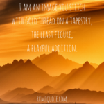 Rumi the least figure poem quote meaning