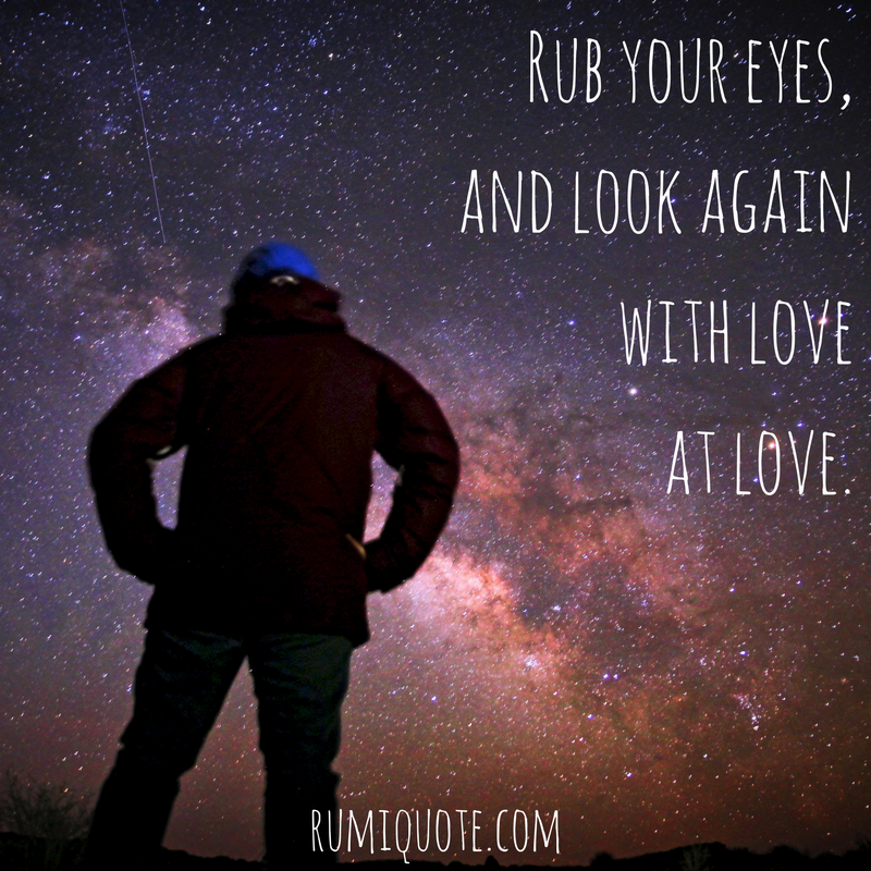 Talking In The Night Rumi Quote